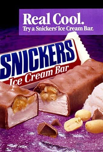 Snicker's Ice Cream Bar ad