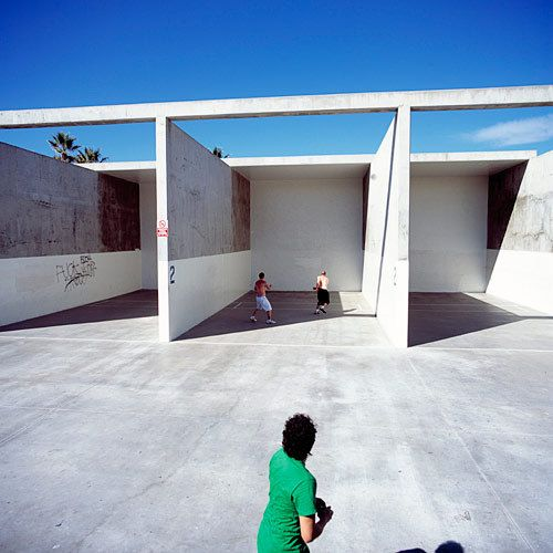 handball court kiyoshi togashi