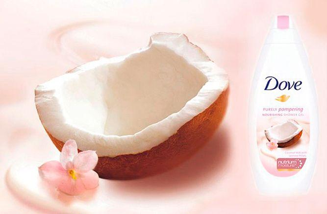 dove nutrium purely pampering coconut jasmine kiyoshi togashi