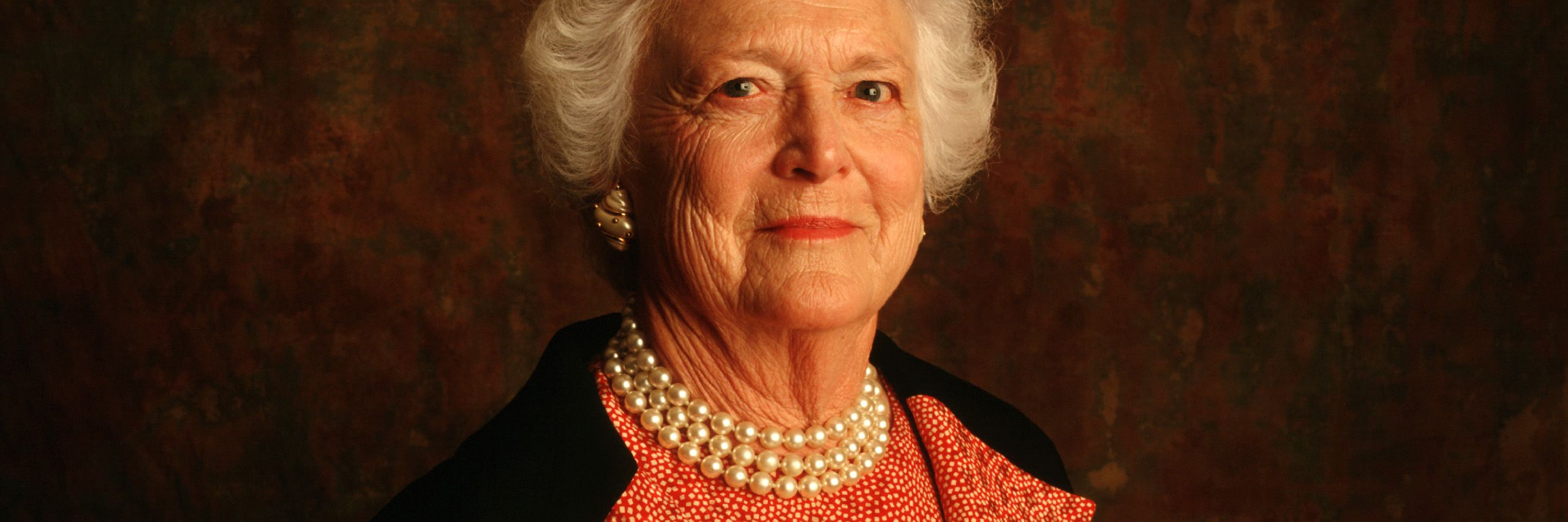 Barbara Bush . wide