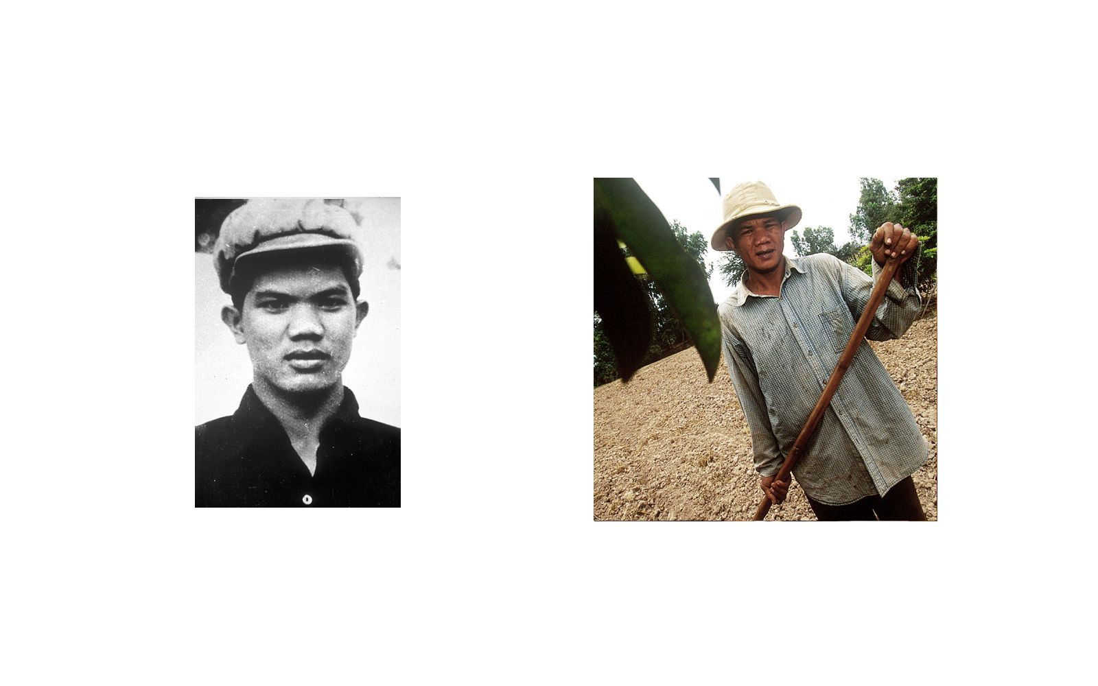 Meas Kry, a former Khmer Rouge soldier, was a guard at Tuol Sleng(S-21) Prison.