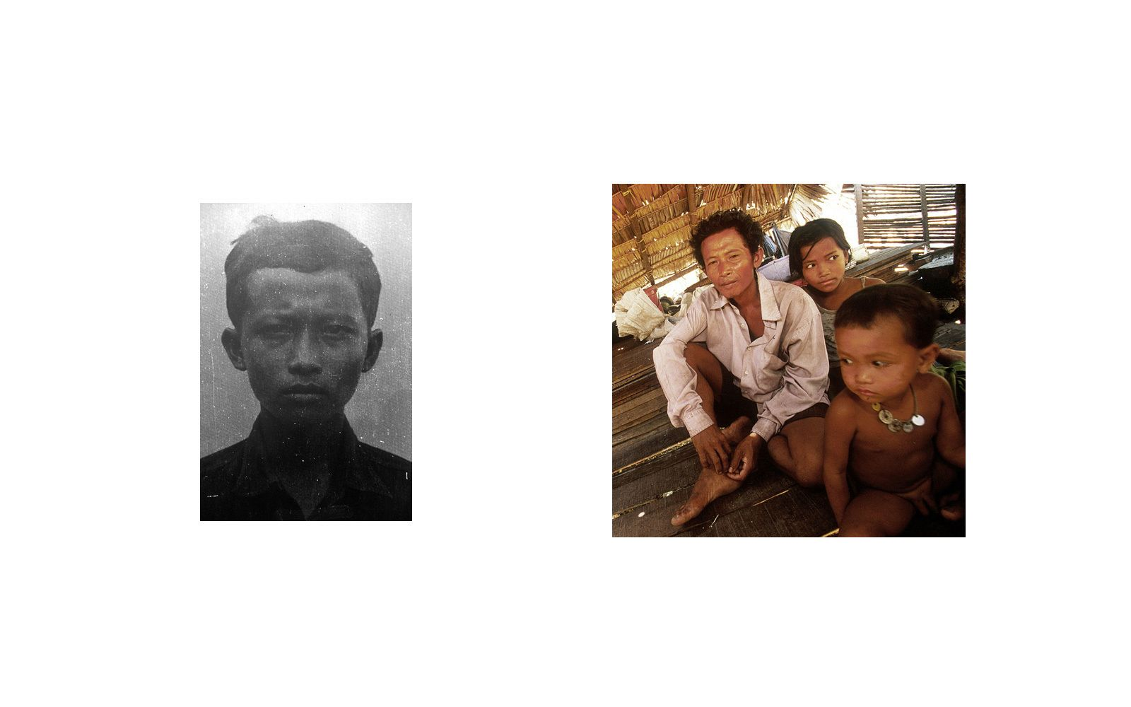 Nun Hong  ,a former Khmer Rouge soldier, was a guard at Tuol Sleng(S-21) Prison.