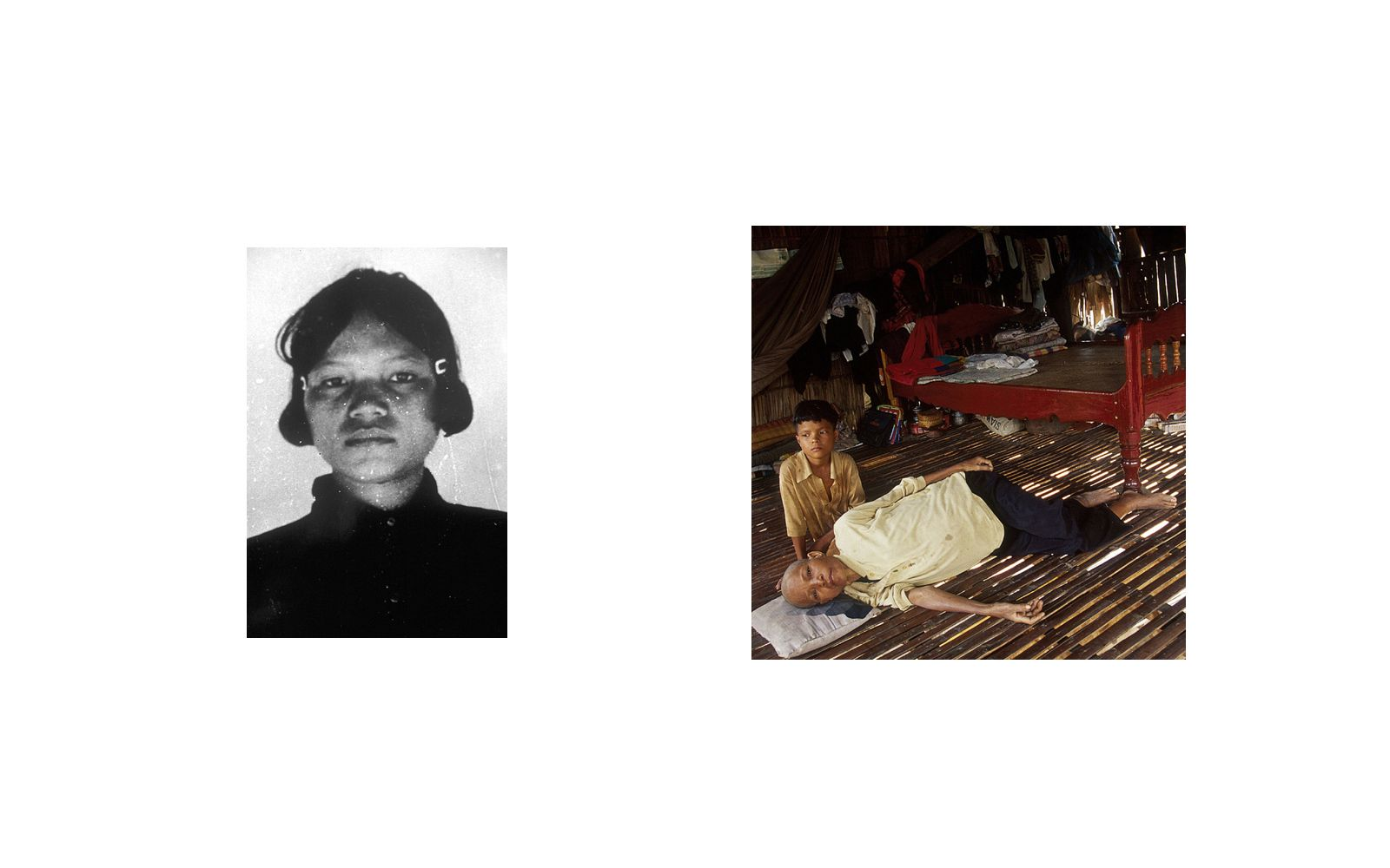 Im Chantha ,a former Khmer Rouge soldier, was a guard at Tuol Sleng(S-21) Prison.