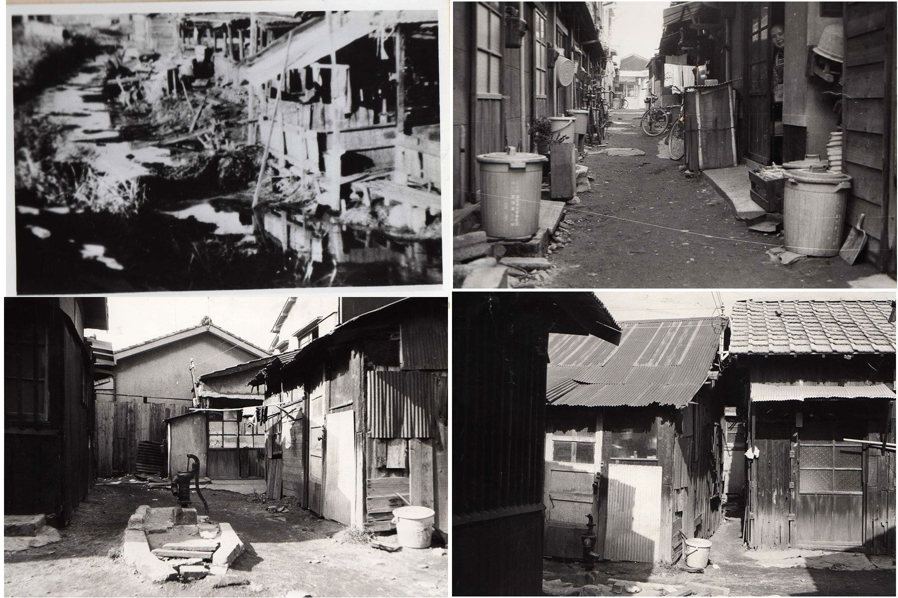 Buraku Areas in 1960's.