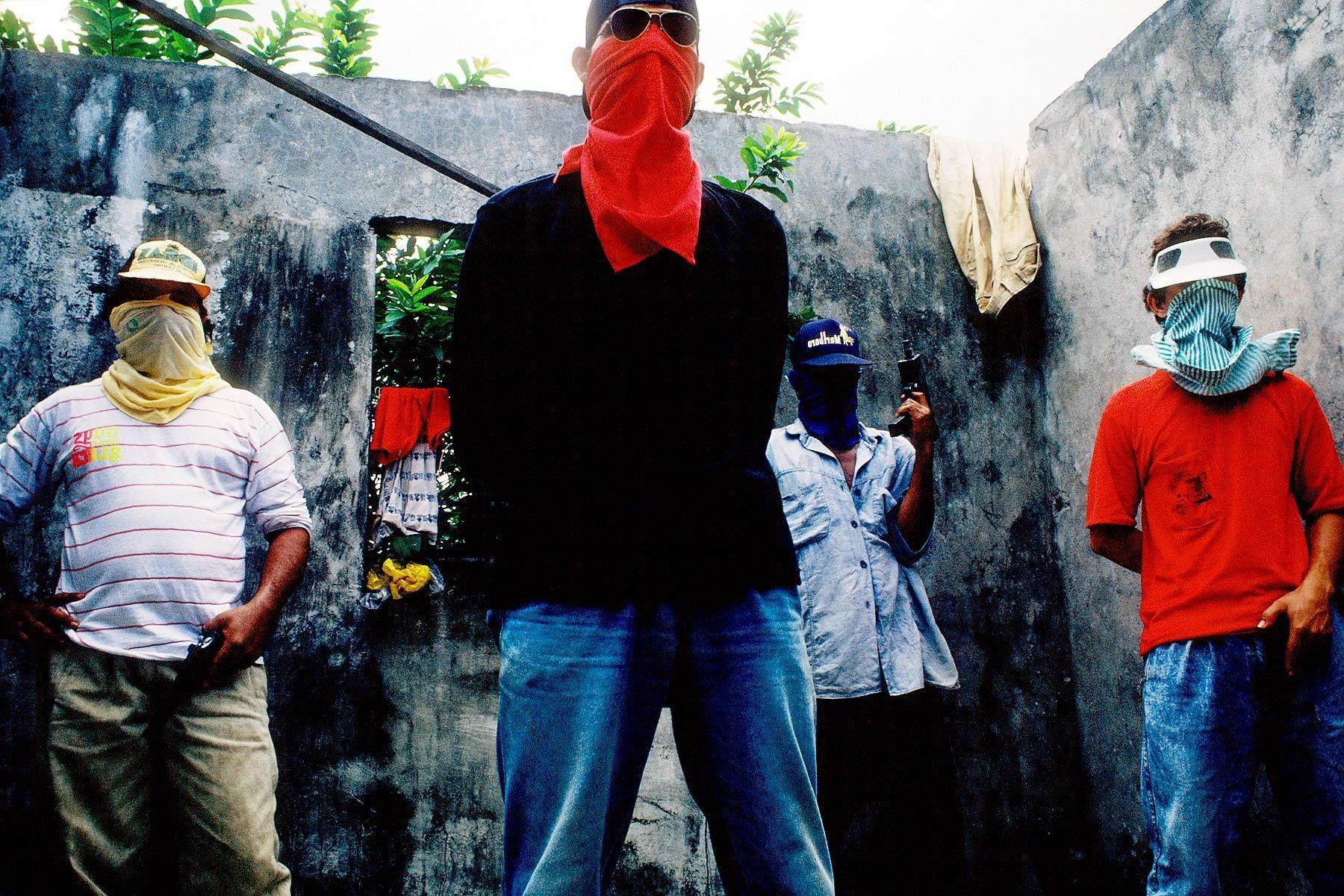 ELN members, Marxist-Leninist/Liberation Theology movement.