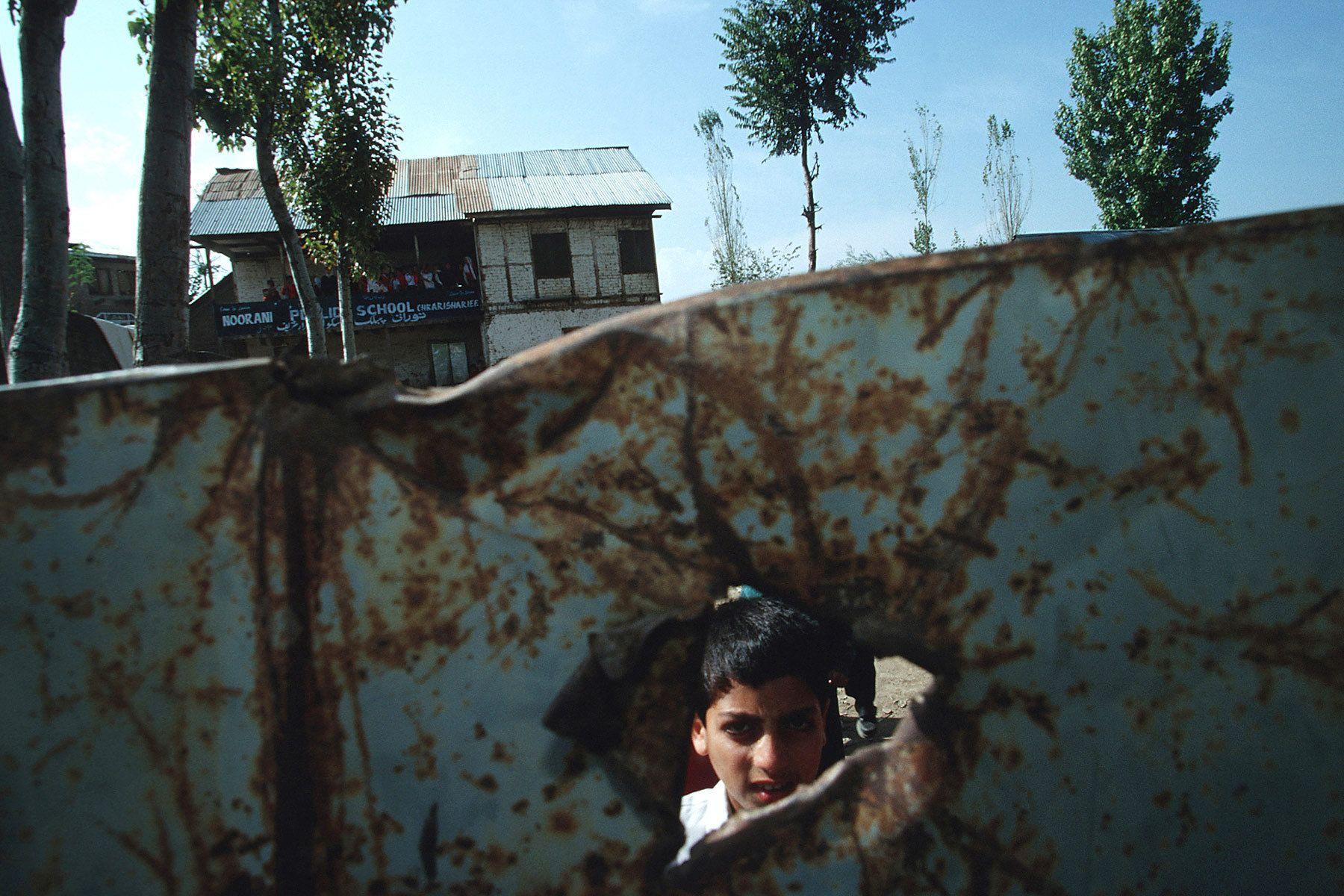 A shcool near Pakistan border