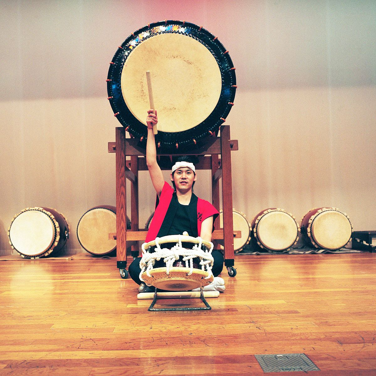 Shuhei Yamamoto. Welfare Worker and Taiko drum player.