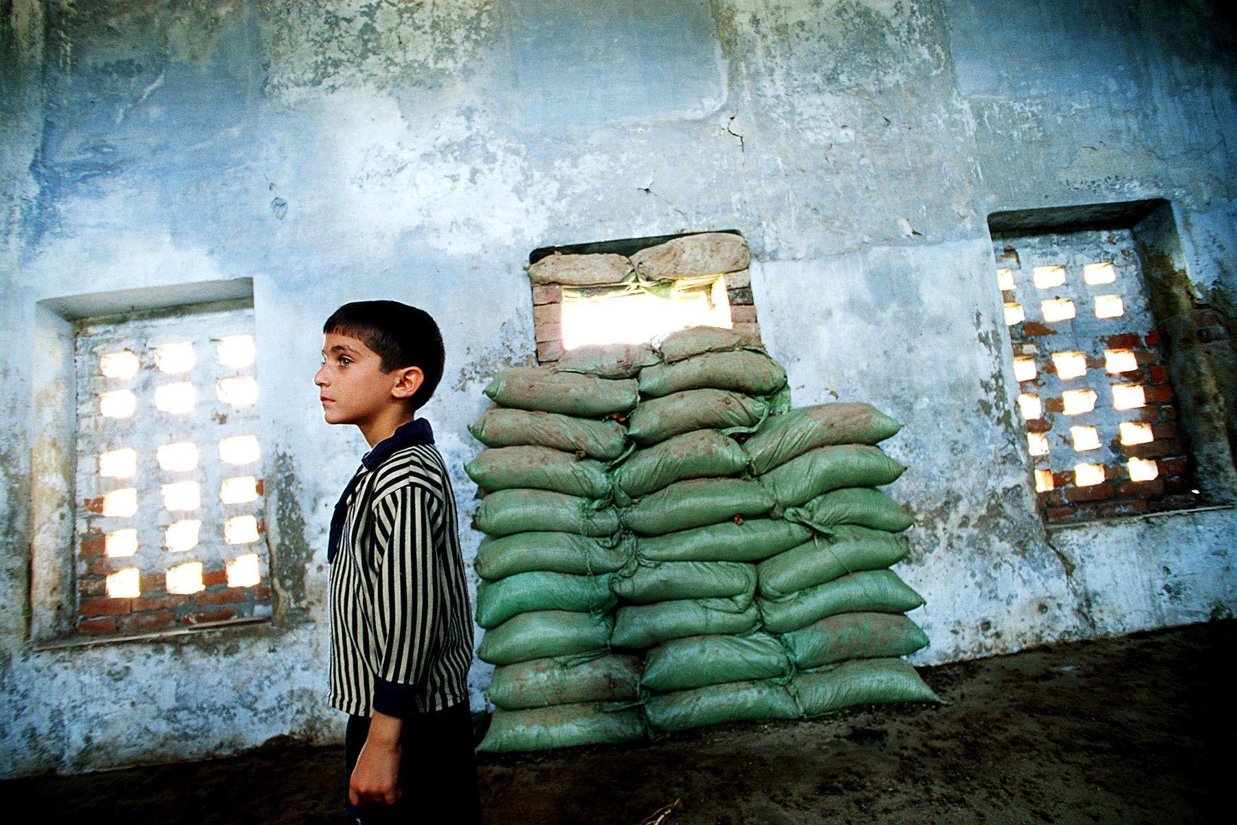 School at near Pakistan border