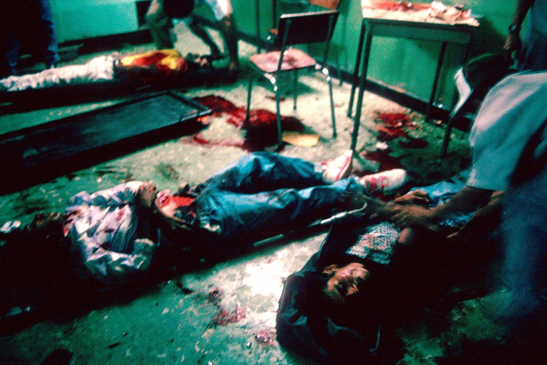 A massacre.