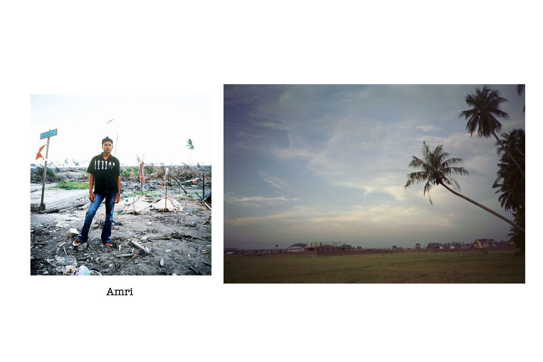 Portrait (Left) © 2004 Masaru GotoImage (Right) © 2004 Amri