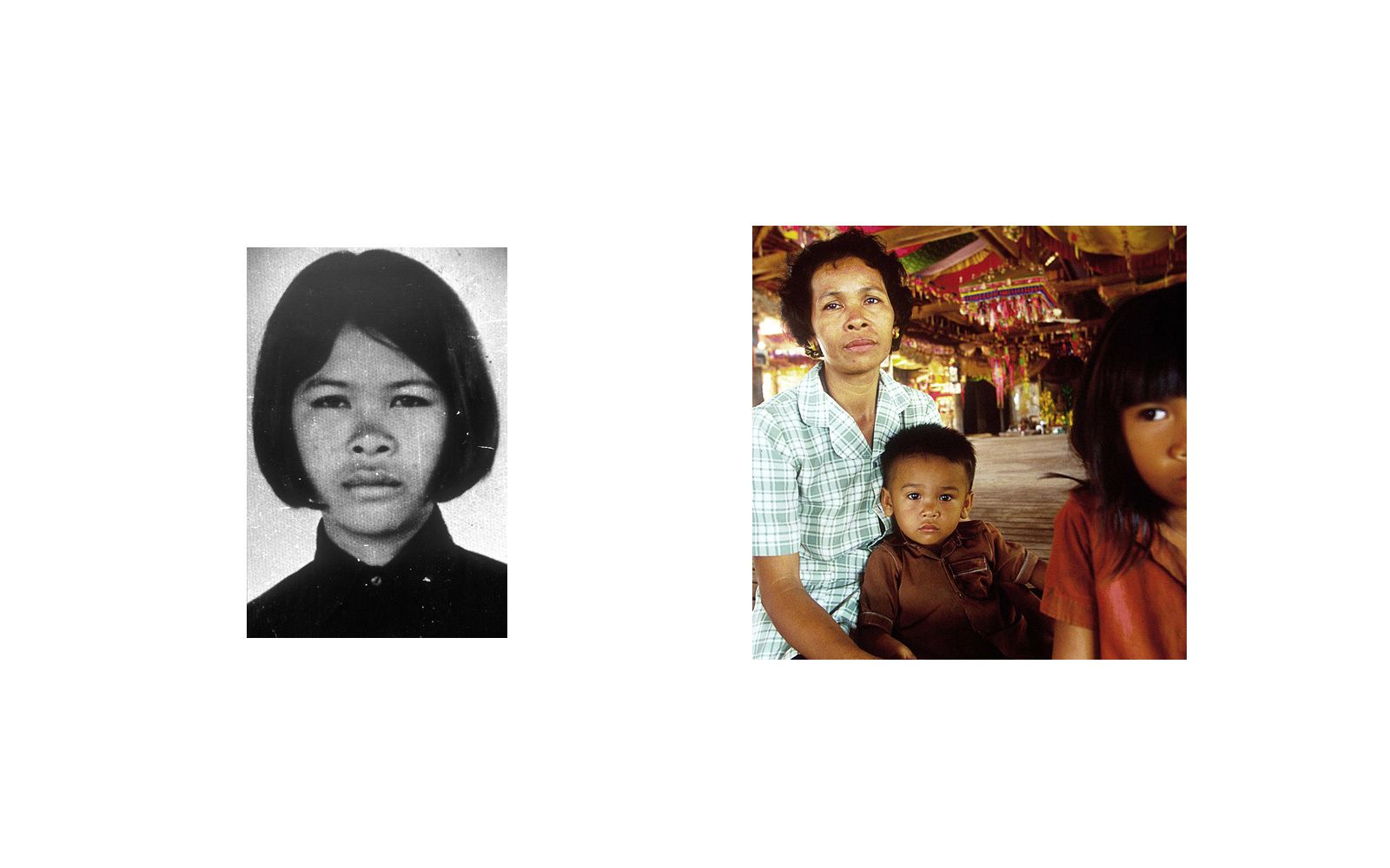 Lor Sim , a former Khmer Rouge soldier, was a guard at Tuol Sleng(S-21) Prison.