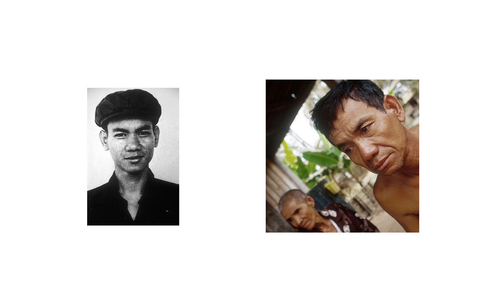 Suos thy , a former Khmer Rouge soldier, was a guard at Tuol Sleng(S-21) Prison.