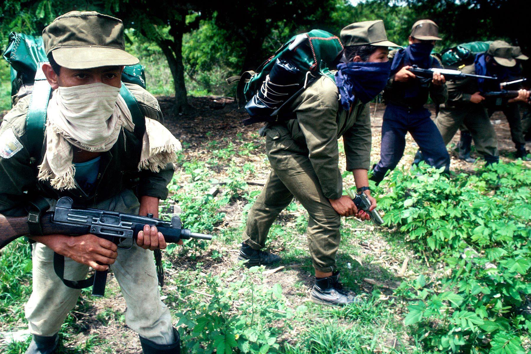 Marxist insurgency, FARC.