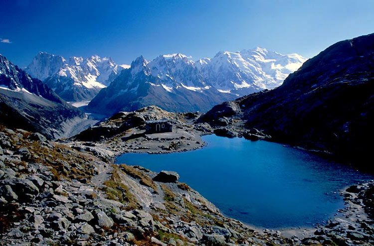 Lac Blanc, French Alps