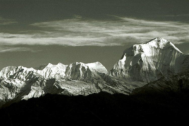 Annapurnas, Himalayas - Nepal