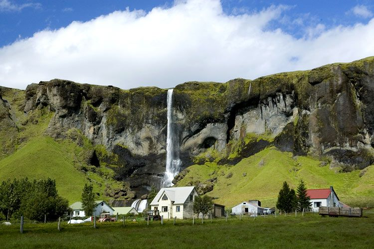 Outside of Vik, Iceland