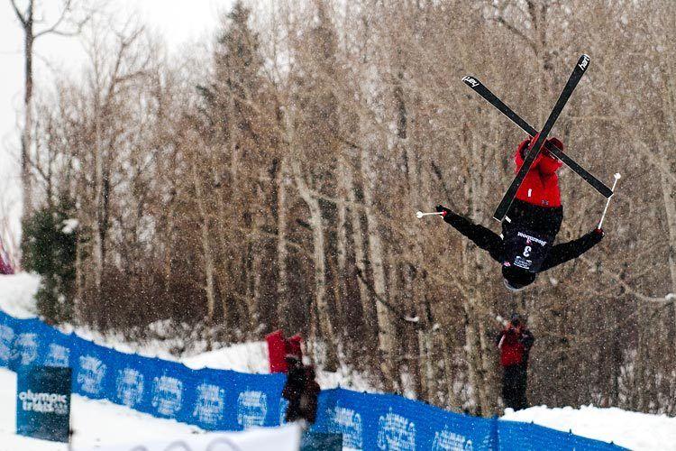 Olympic Mogul Ski Trials, Steamboat, CO 2009
