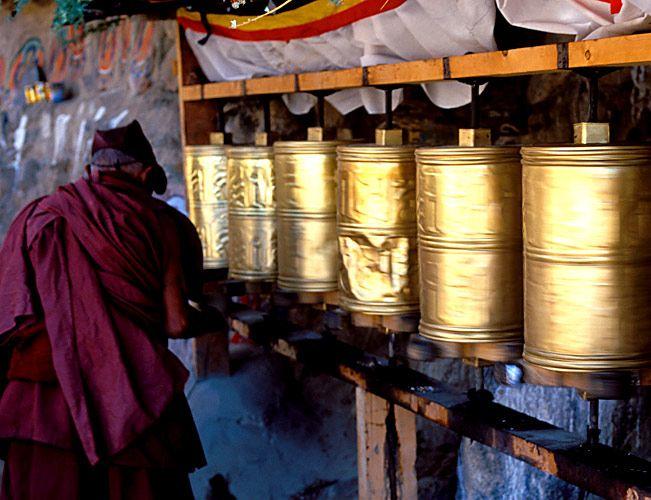 Tibetan Monk, Lhasa - Tibet