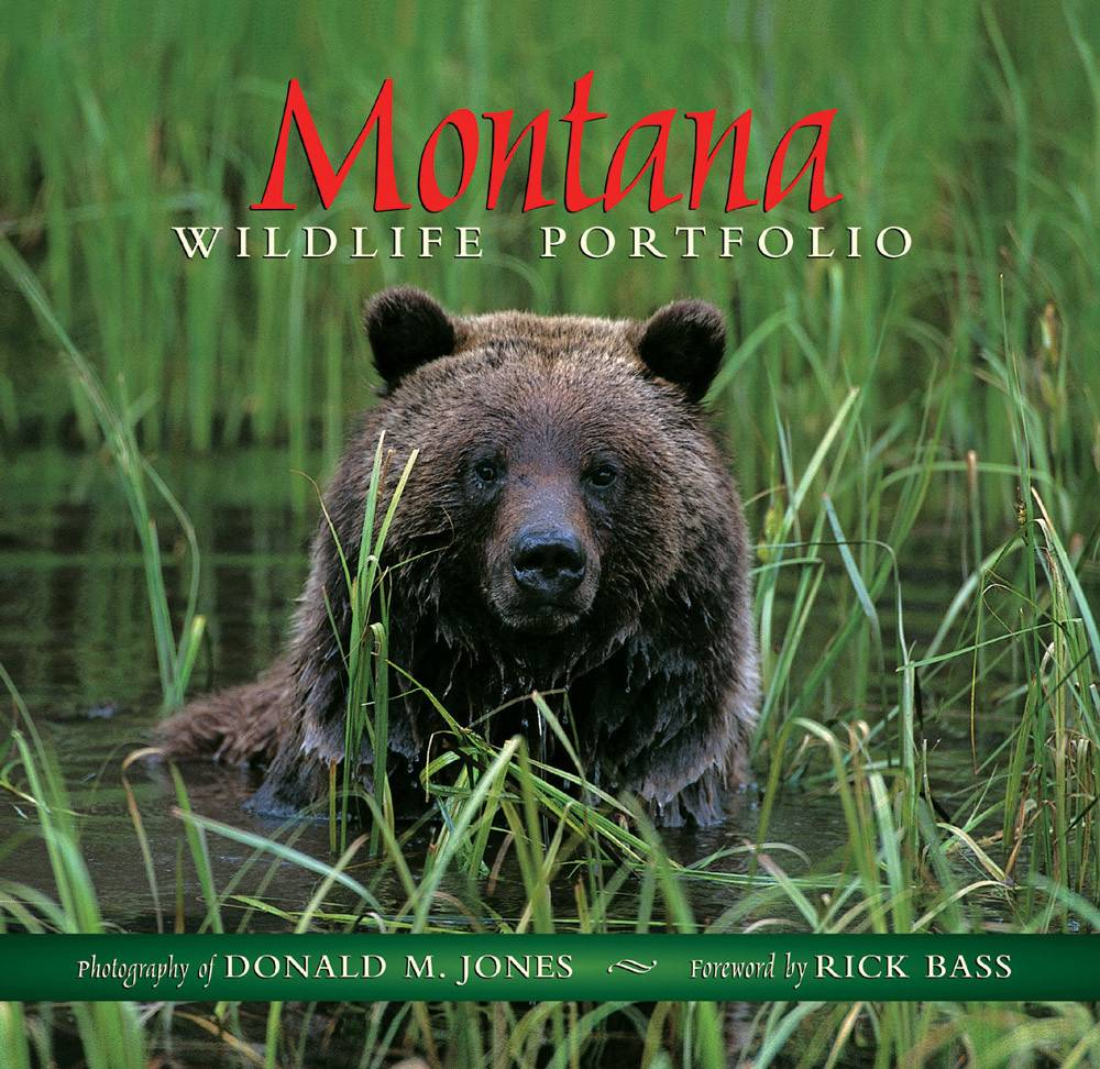 Montana Wildlife Portfolio  Hard Bound  $24 .95 + $4.50 S/H SIGNED