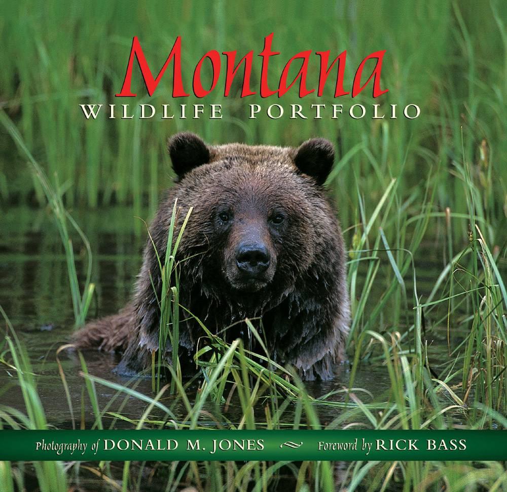 Montana Wildlife Portfolio  Hard Bound  $24 .95 + $4.50 S/H SIGNED