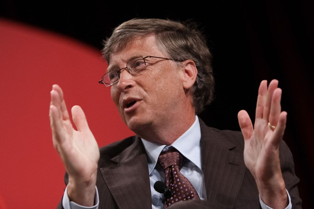 Microsoft co-founder/Philanthropist Bill Gates speaks on stage during the National Urban League's annual conference on July 28, 2011 in Boston, MA.