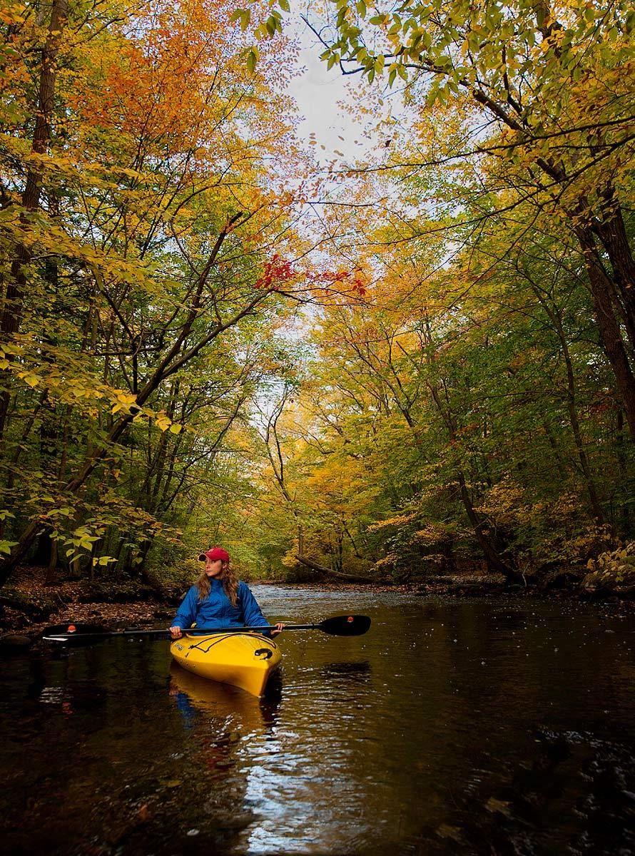 Kayaker Contemplation