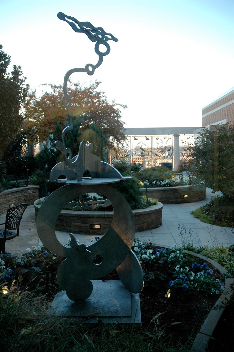 Massey Cancer Healing Garden -  Medical College of VA |  Richmond VA