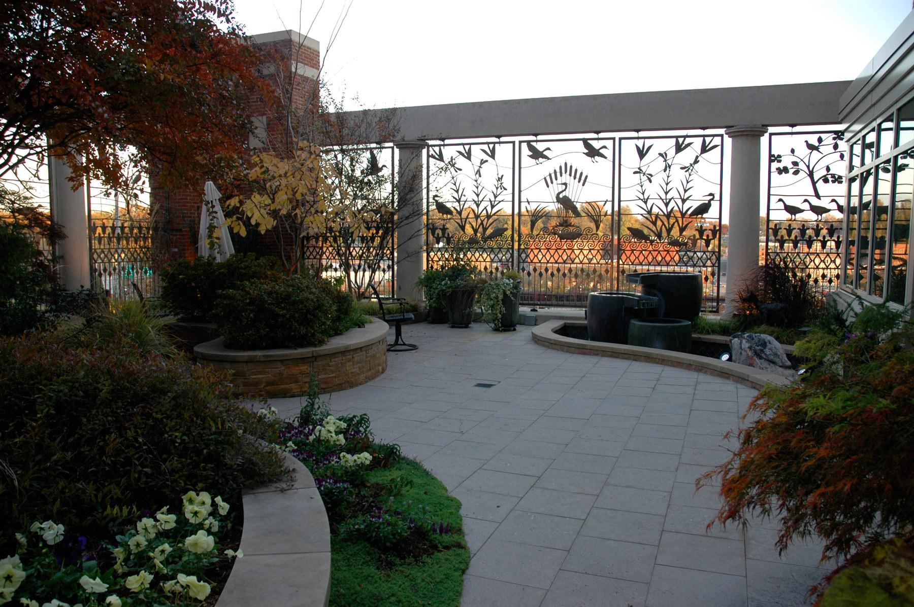 Massey Cancer Healing Garden -  Medical College of Va |  Richmond VA