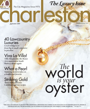 Cover of Charleston Magazine September 2015