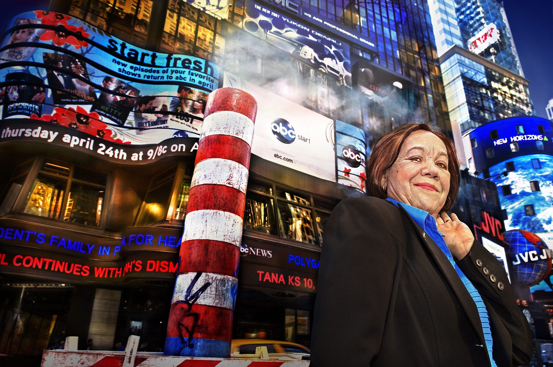 CRUZ ROSARIO, MUJER DOMINICANA EN N.Y. 2008