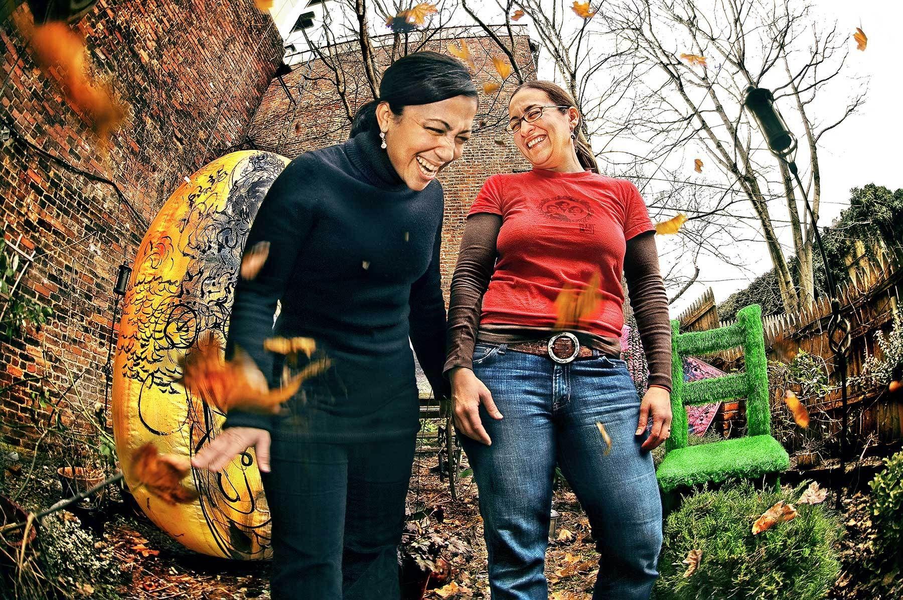 SCHEREZADE GARCIA - LIANA EMILIA GARCIA, MUJER DOMINICANA EN N.Y. 2008