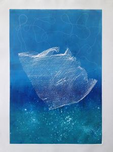 net in the sea