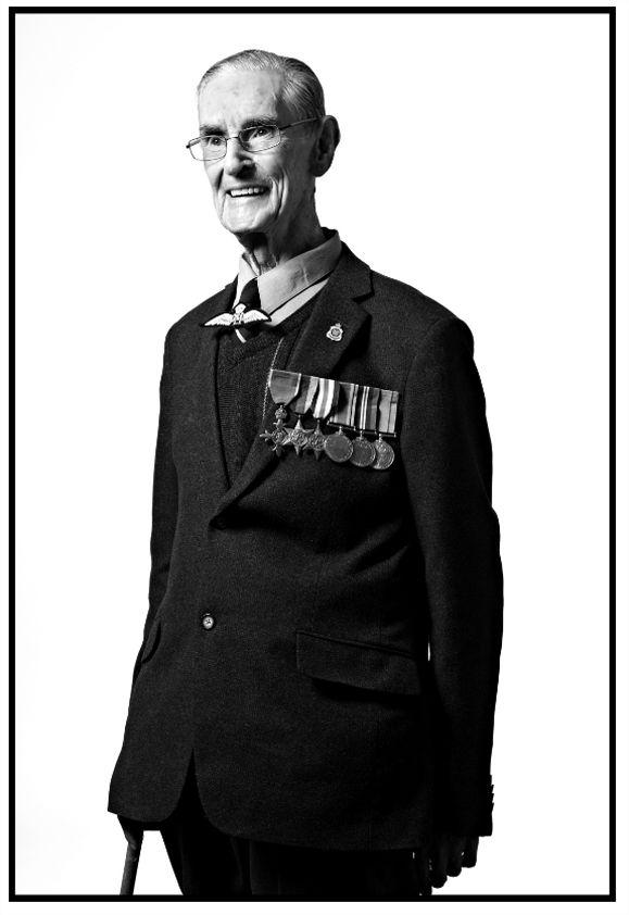 Australian Bomber Command Veterans in London for the memorial unveiling at Green Park.