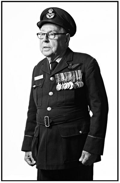 Australian Bomber Command Veterans in London for the memorial unveiling in London.
