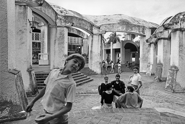 Courtyard at Ricardo Porro's School of Modern Dance