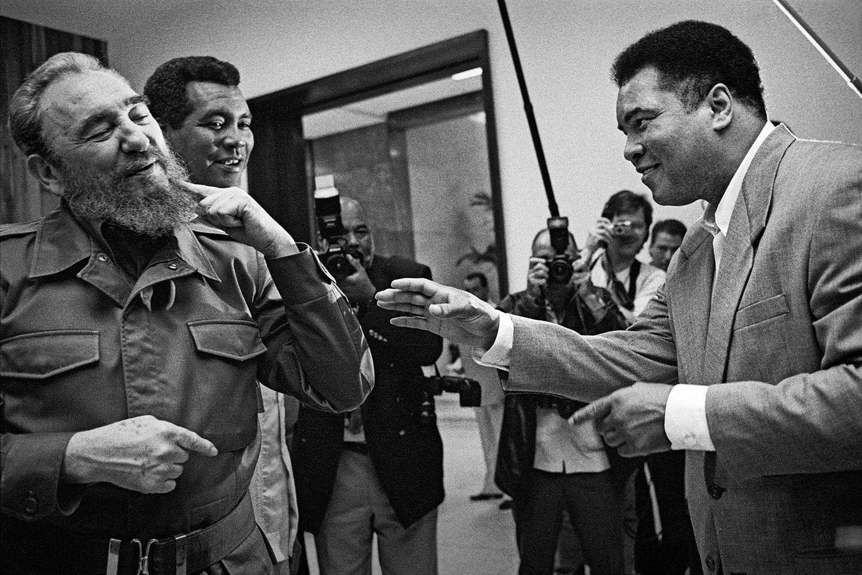Fidel Castro with Muhammad Ali
