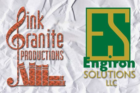Pink Granite Productions Logo andEngiron Solutions Logo