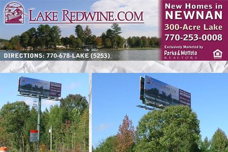 Lake Redwine Billboard