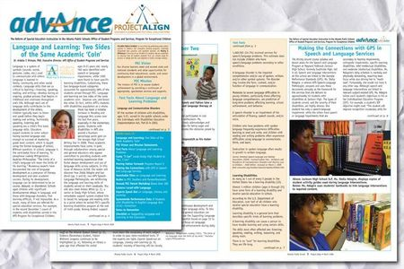 Advance Align Newsletter for Atlanta Public Schools