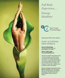 East Coast Dermatology Ad