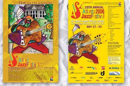 Atlanta Jazz Festival Posters