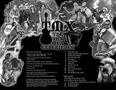 Tex Mex Experience CD Package Design