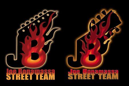 Joe Bonamassa Streetteam Logos