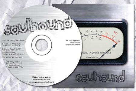 Soulhound CD Design