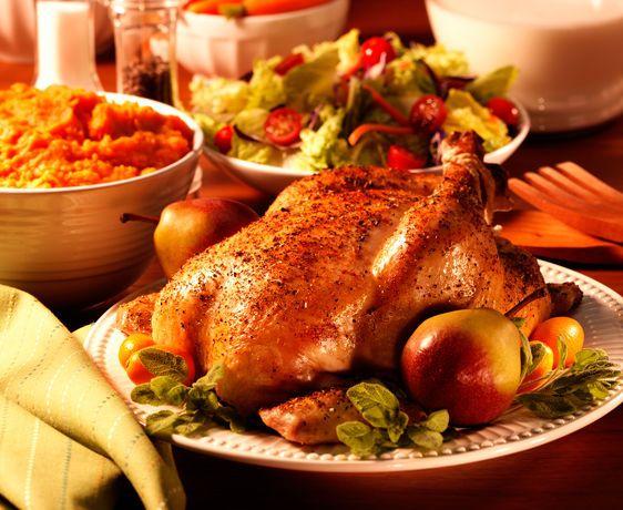 lisa bishop food stylist- roasted chicken