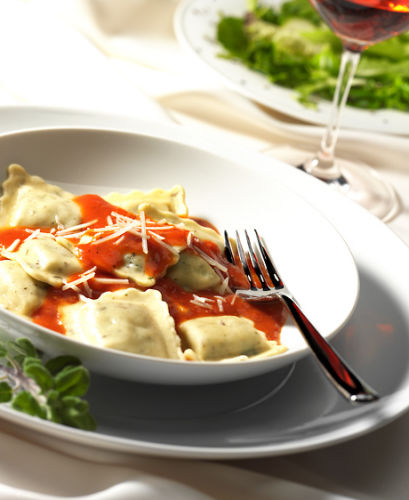 lisa bishop food stylist- cracked pepper walnut gorgonzola ravioli