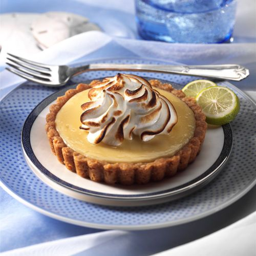 lisa bishop food stylist- coconut macadamia key lime tart