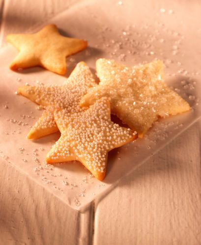 lisa bishop food stylist- sugar dusted star sugar cookies