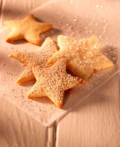 Lisa Bishop Food Stylist Sugar Dusted Star Sugar Cookies