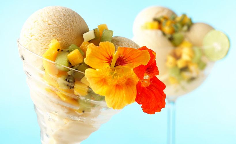 lisa bishop food stylist- tropical ice cream sundae